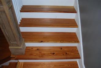 Good Heart Pine Stair Treads
