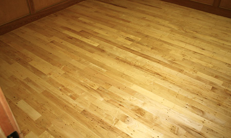 Antique Reclaimed Maple Flooring Green Family Materials